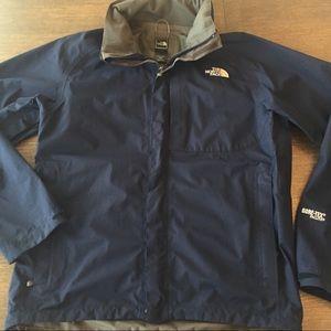 North Face lightweight Goretex jacket, men's Med.